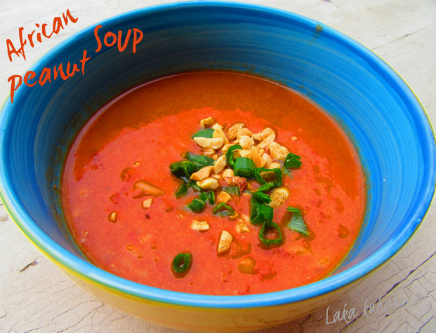 African peanut soup by Laka kuharica: spicy and comforting soup has West African origins.