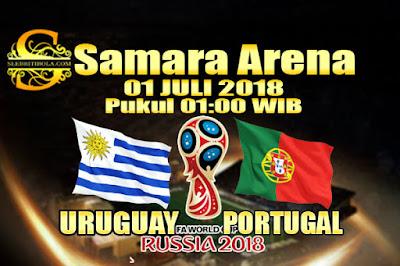 AGEN BOLA ONLINE TERBESAR - PREDIKSI SKOR PIALA DUNIA 2018 URUGUAY VS PORTUGAL 01 JULI 2018