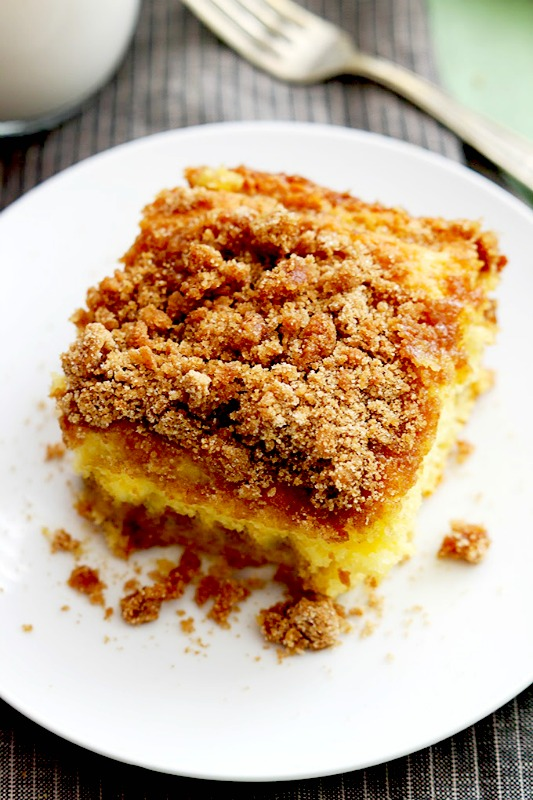 Cinnamon Crumb Cake recipe