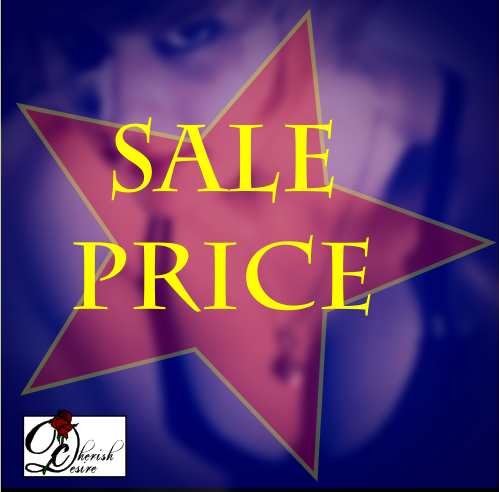 Books on Sale, Sale, Cherish Desire, erotica