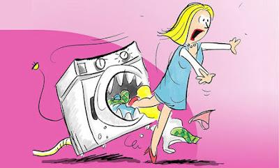 máy giặt bì rò điện