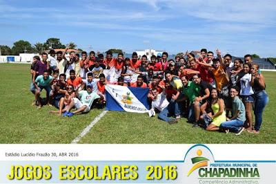 Jecs's 2016: Raimundo Araújo garantiu o título de campeão no futebol