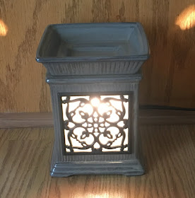 Scentsy Jane, Grey, Wraught-iron Wax Warmer on Etsy - Retired- Click image for more info.