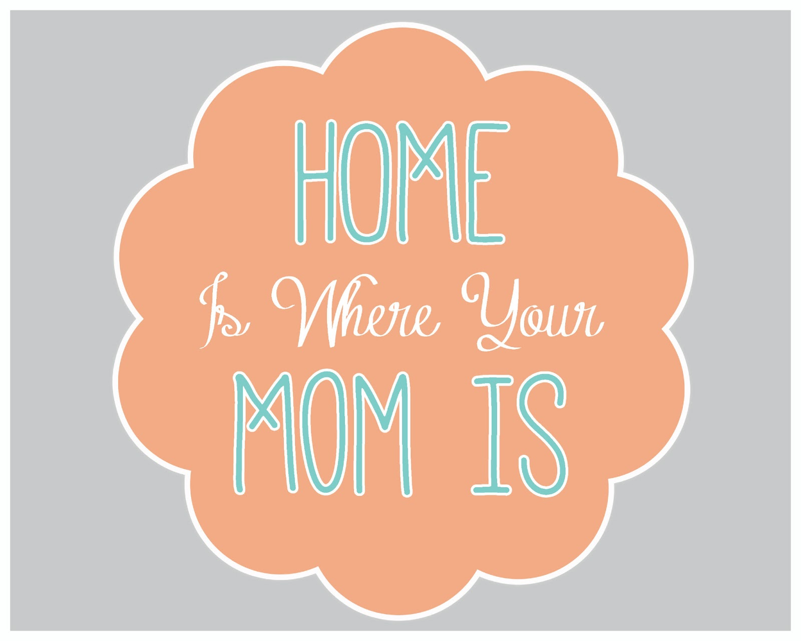 Mami's home!