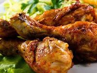 Cara Membuat Ayam Goreng Bumbu Mentega Tepung Gurih