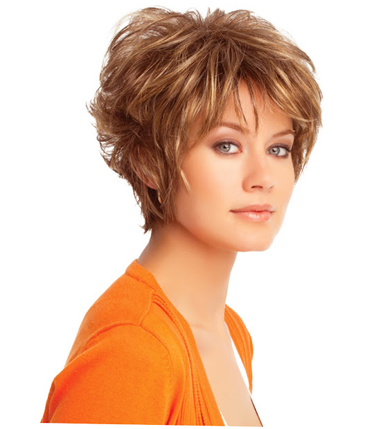 womens short haircuts thick