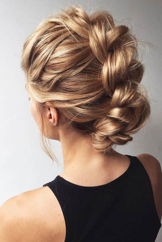 Twisted And Braided Hairstyles For Medium Length