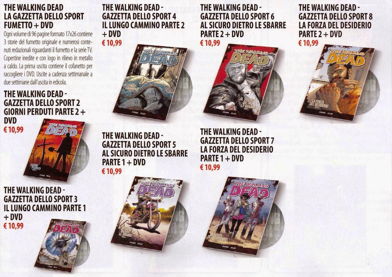 TWD - fumetto + dvd - Gazzetta dello Sport e SaldaPress