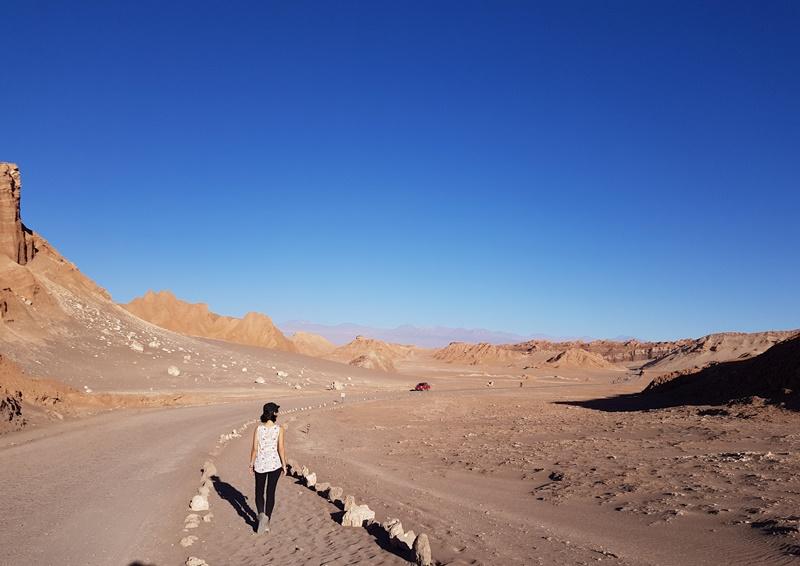 Deserto do Atacama, Valle de La Luna