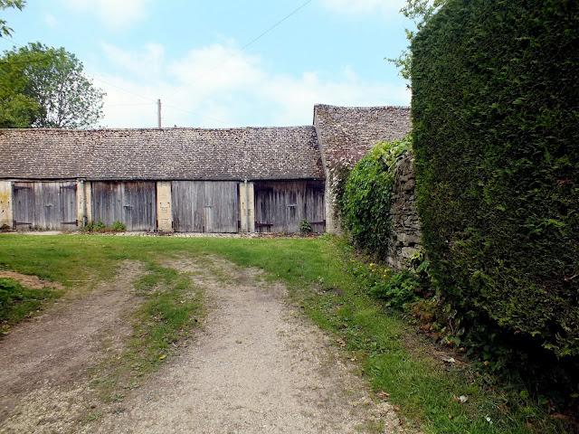 arquitectura típica de Bibury en Inglaterra