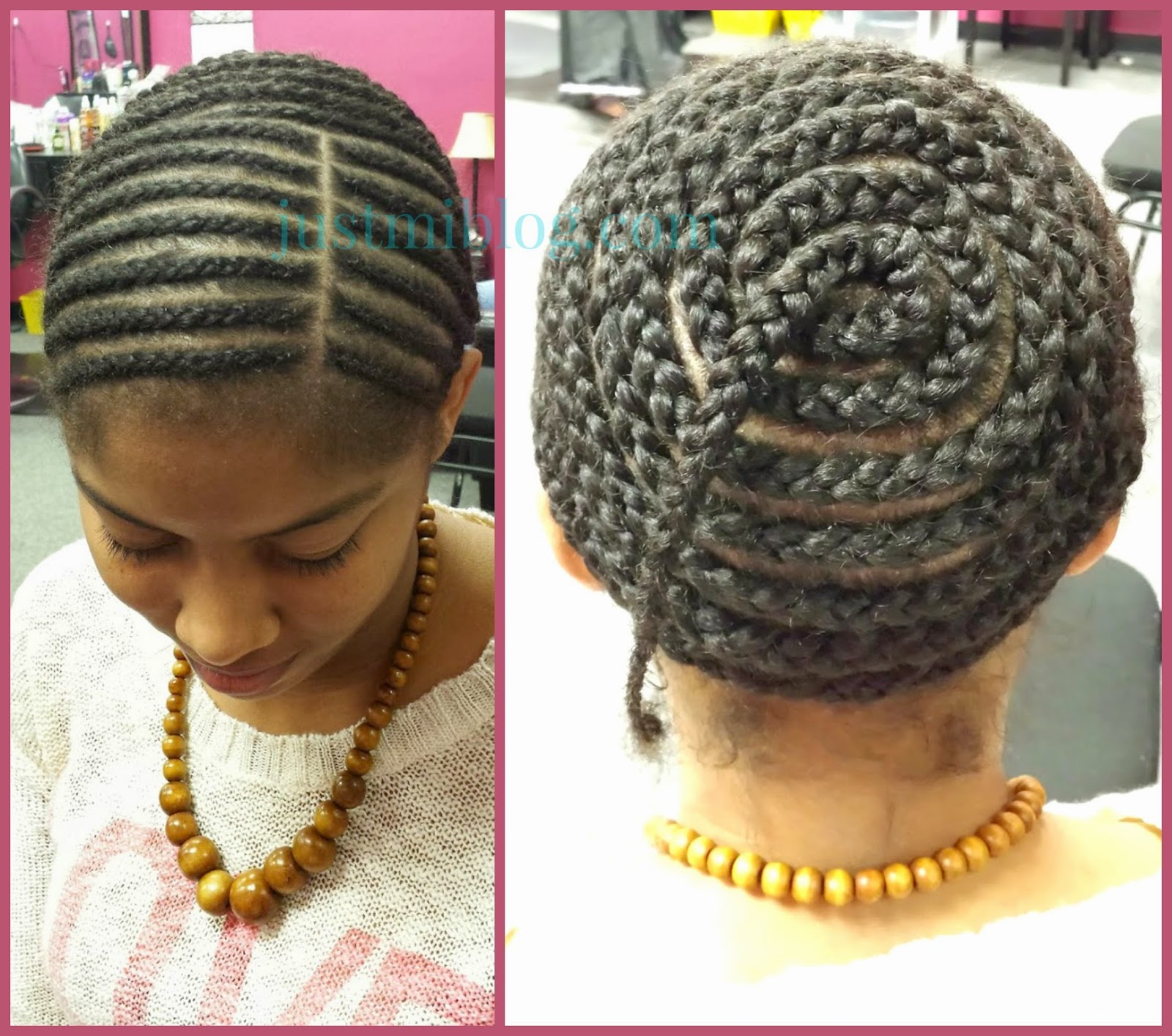 Middle Part Sew In Braid Pattern Amazing Decorating Ideas