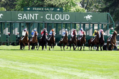 Mick Channon's 2yo Gift Account races at Saint-Cloud