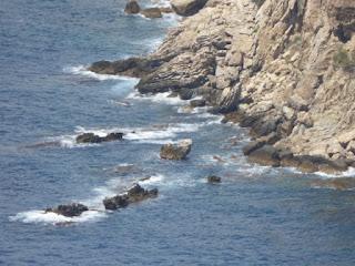 Acantilados del Morro de Toix. Refugio de Cormorán moñudo
