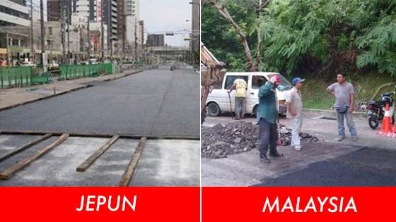 Rahsia sebenar kenapa jalan tar di Jepun jauh lebih baik dari jalan tar di negara lain
