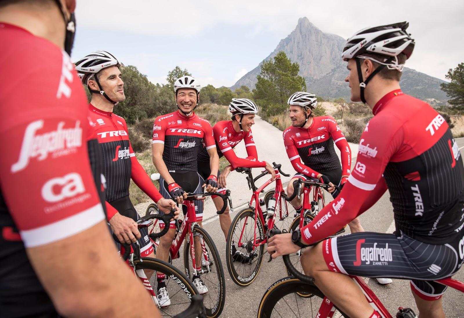 nuevo estilo 100% de garantía de satisfacción más fotos Sportful presenta la nueva equipación del Trek Segafredo ...