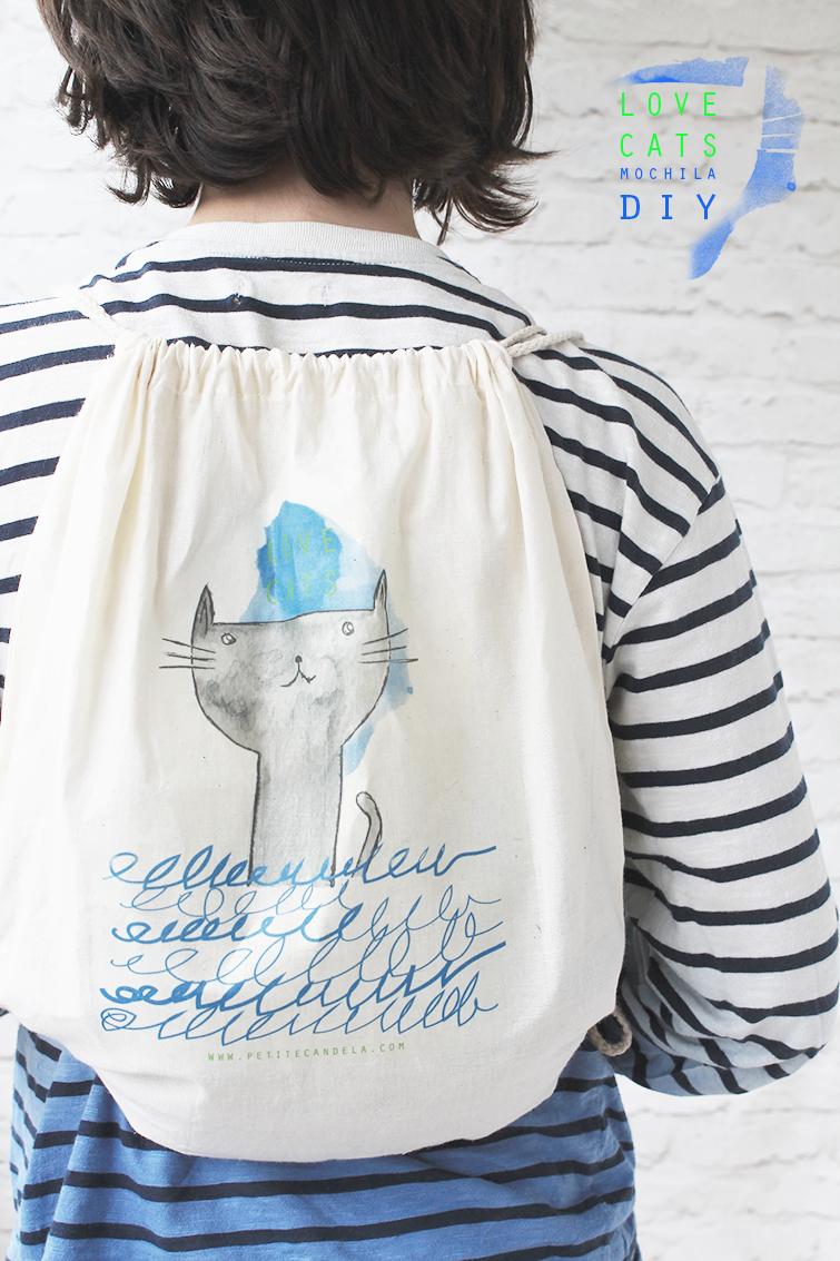 DIY: mochila con descargable (gratuito)