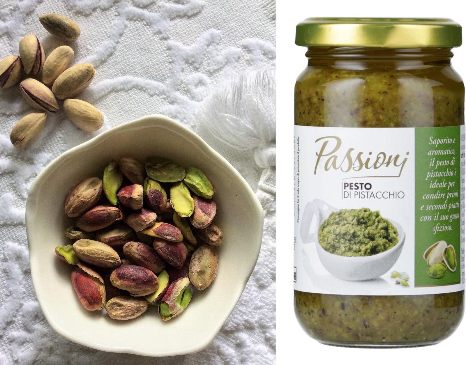 ricette con i pistacchi di bronte