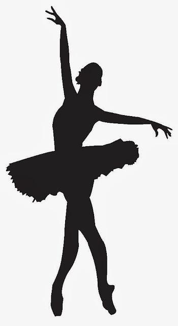 Siluetas de Balletistas y Bailarinas. | Ideas y material gratis para ...