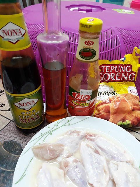 Resepi Ayam Korea Viral