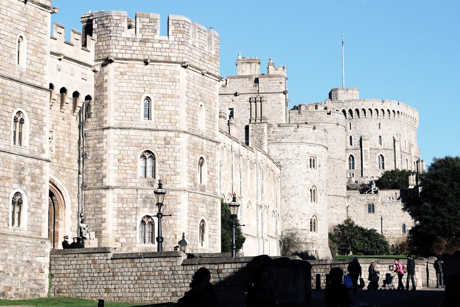 Windsor Castle at winter