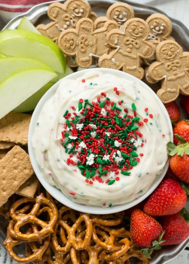 CHRISTMAS COOKIE DOUGH DIP