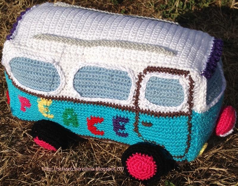 Schäfchen Silvia Meine Tochter Hat Wieder Gehäkelt Vw Bus