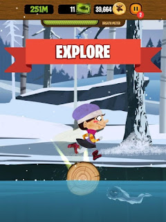 Thunder Jack's Log Runner Apk v1.2.3323 Mod