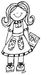 community helpers clipart professions melonheadz melonheadzillustrating waitress professionals pm leave nikki posted