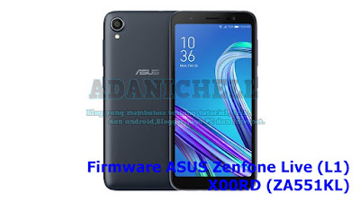 Firmware ASUS Zenfone Live (L1) X00RD (ZA551KL)