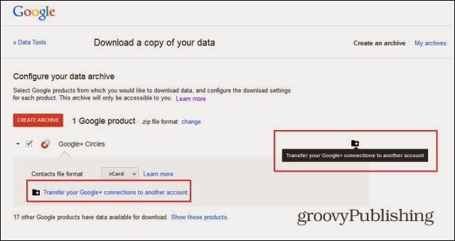 Cách hợp nhất 2 tài khoản Google+