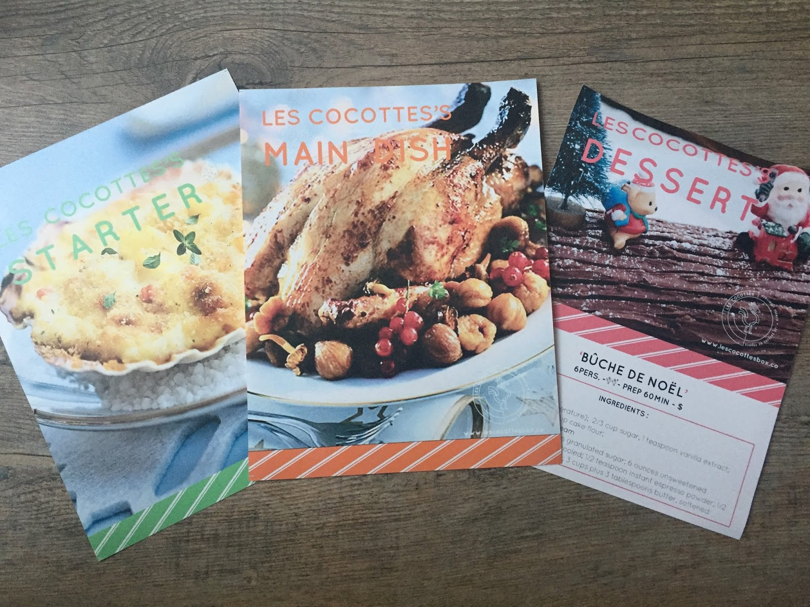 Les cocottes review december 2016 canadian gourmet french food traditional french christmas dinner the recipes include a starter a main dish and a dessert the starter is scallops a la bretonne forumfinder Gallery