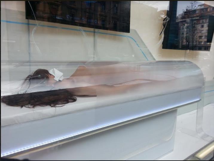 Passaparola adesso cadaveri realistici in grandezza naturale in buste di plastica finestra - La finestra di overton ...