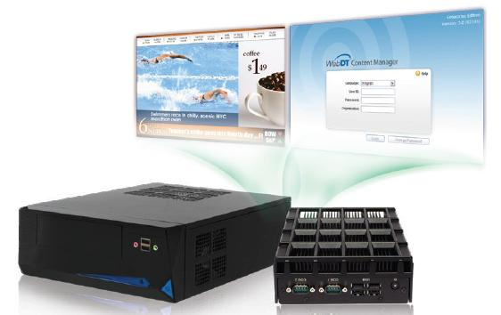 WebDT Digital Signage