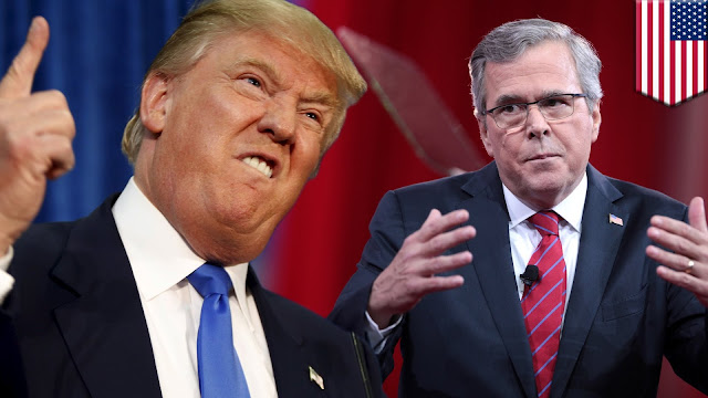 Donald Trump volta a vencer e Jeb Bush desiste