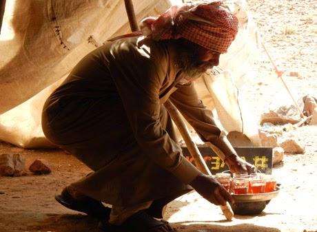Una tarde en el desierto de Jordania