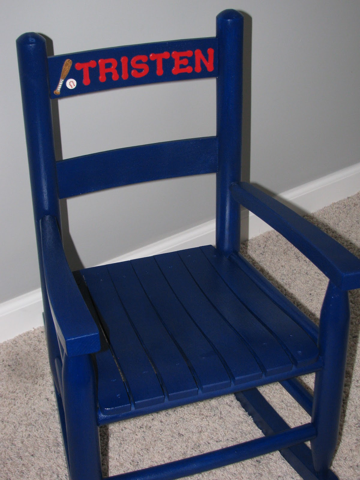 personalized little kid chair best for sewing room custom toddler rocking chairs