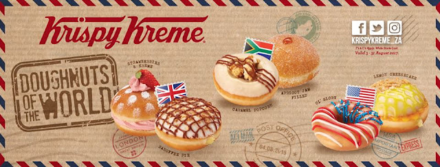 • Krispy Kreme South Africa • Doughnuts of the World •