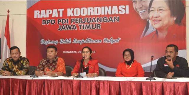 DPD PDI Perjuangan Jawa Timur
