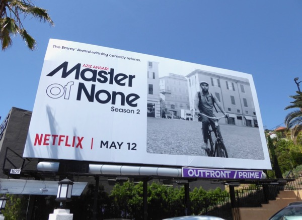 Master of None season 2 Netflix billboard