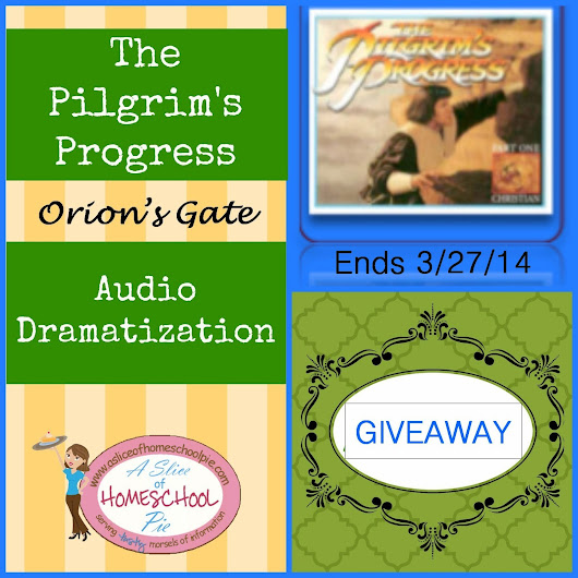 Giveaway: The Pilgrim's Progress Audio Dramatization - Digital MP3 by Orion's Gate