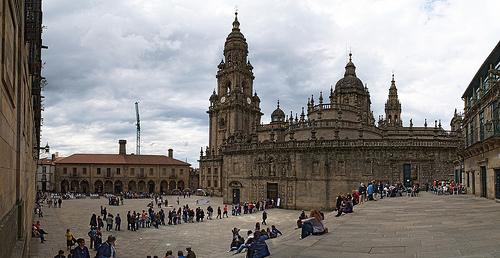 Santiago de Compostela : Plaza de la Quintana