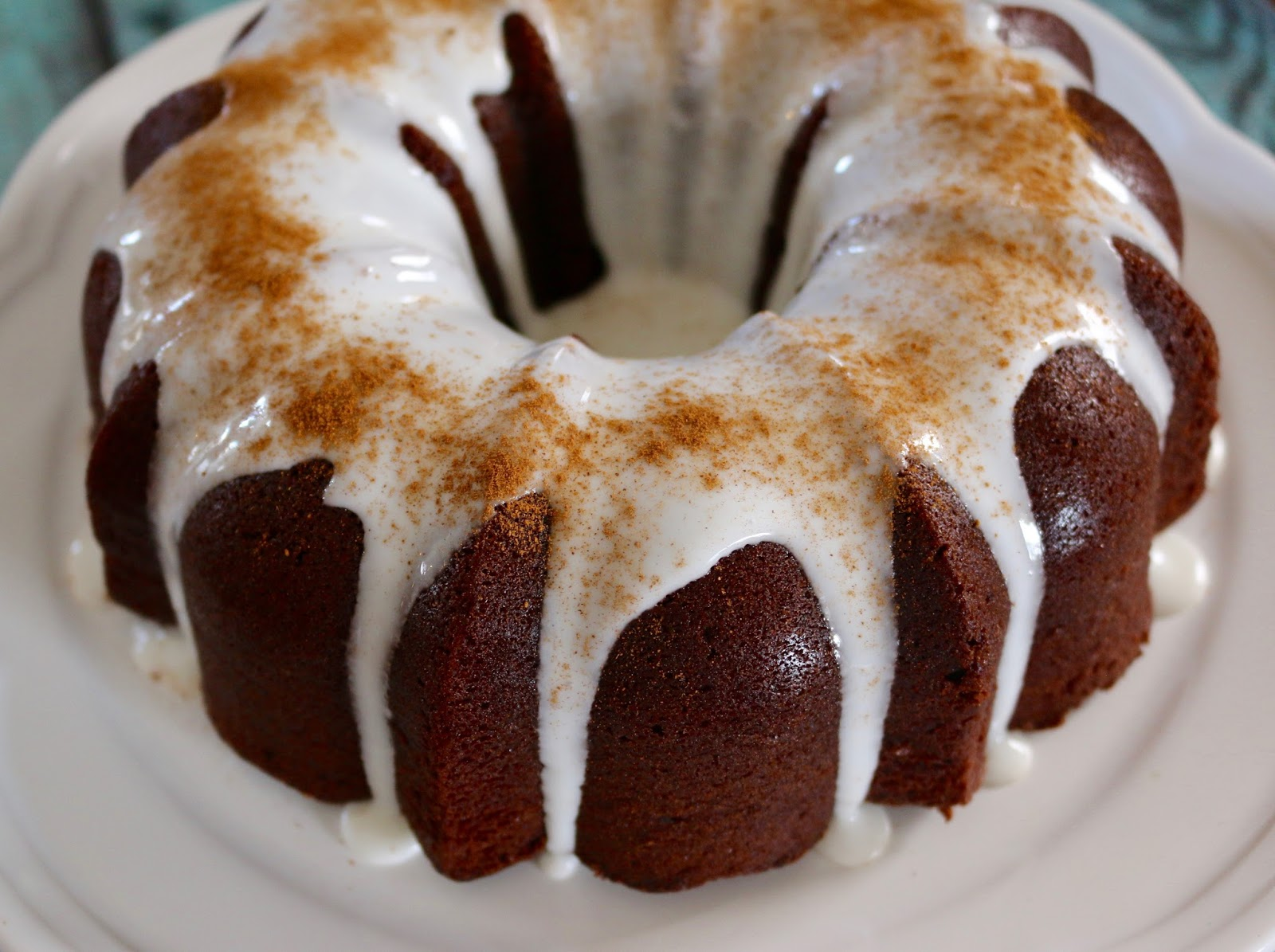 ... Left Are The Crumbs: Chile Hot Chocolate Bundt Cake ~ #BundtBakers