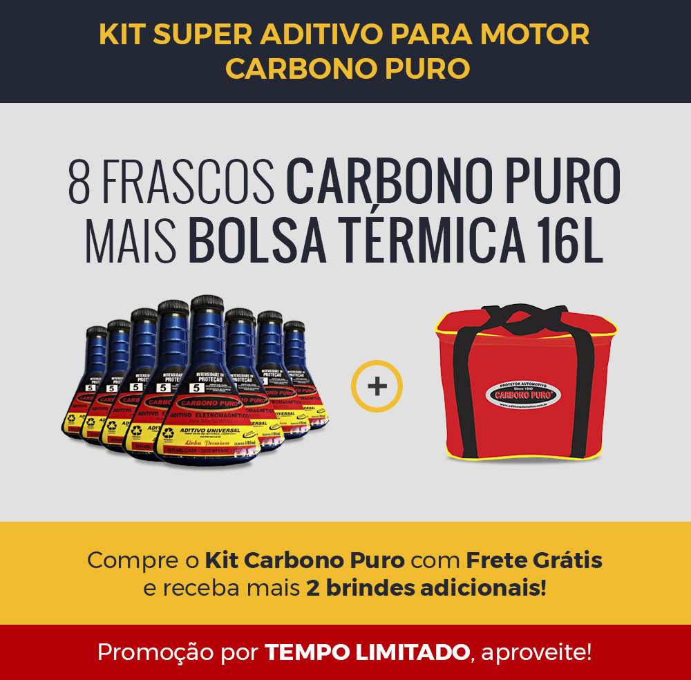 Aditivo automotivo Carbono Puro