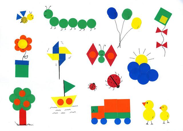 Mis Tecnicas Plasticas Dibujos Con Gomets