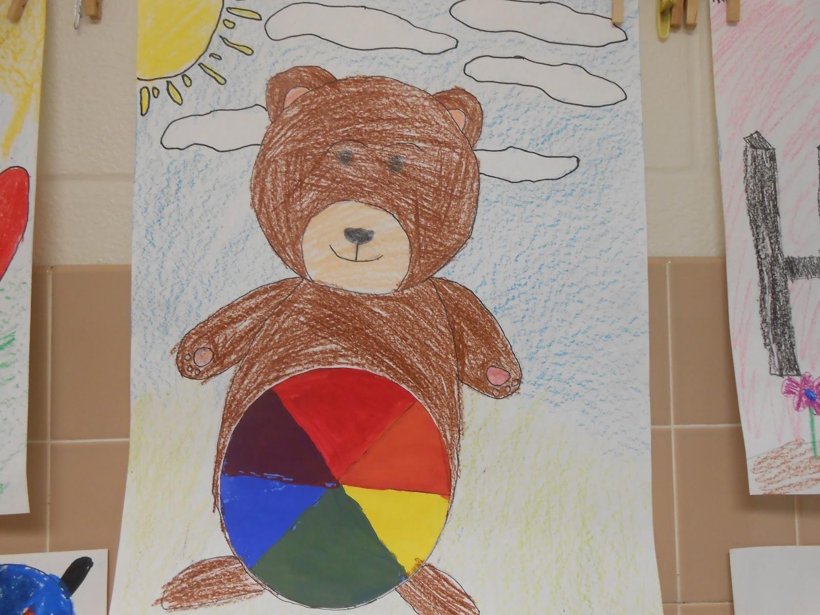Tesago Art At Shenendehowa C S D 3rd Grade Creative Color Wheels