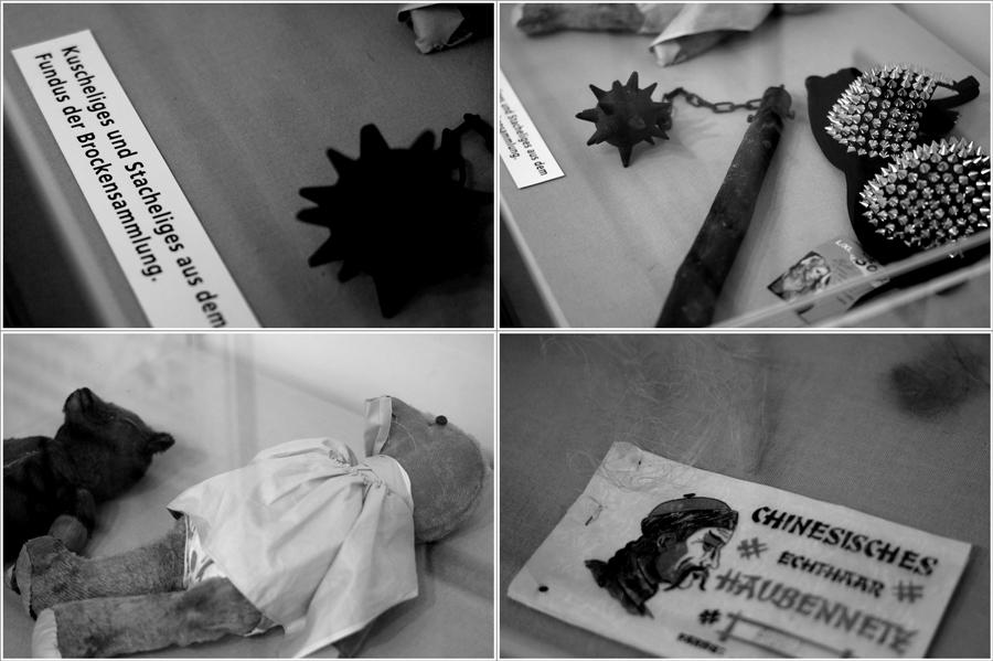Blog + Fotografie | fim.works | Nachtansichten Bielefeld | Anstalt Bethel | Ausstellung BroSa | Collage Funde in der Altkleidersammlung