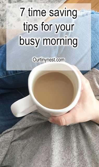 time saving tips for the morning