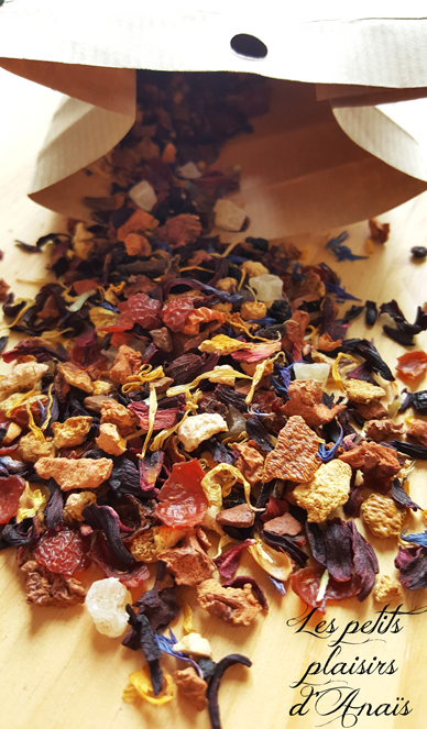 tisane infusion herbs and co sachet