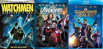 Watchmen; Avengers; Guardians