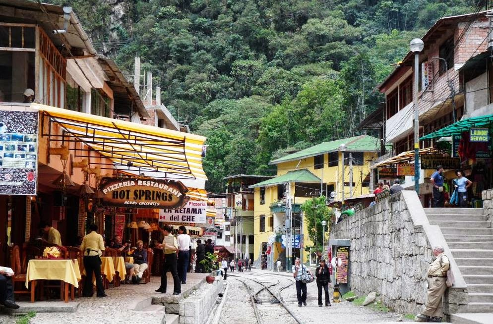 Aguas Calientes no Peru